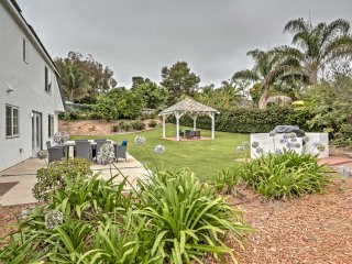 Immaculate Oceanside House w/ Gazebo - Near Beach!