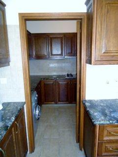 small kitchen/storage room