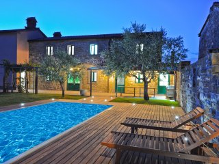 Gorgeous Istrian Villa with a Pool Surrounded by Nature