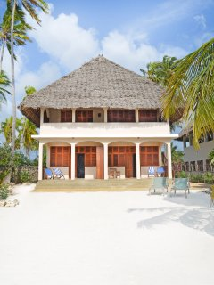 Private Villa Entrance and Beach