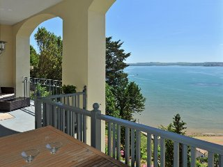 Stunning sea views from all windows and large balcony