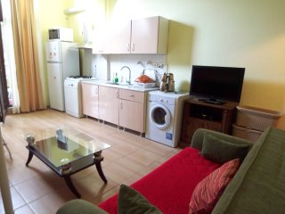 2Aircon, Garden, Close2Beach,2+1,WiFi, LedTV, Full