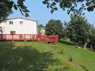Relax in the arms of Mother Nature in this quiet 2 bedroom home in Pouch Cove NL