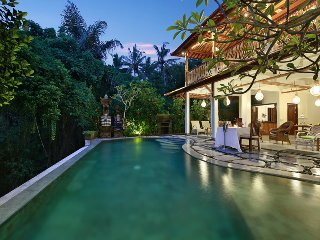 4 Bedroom Tropical Garden Villa, Ubud;