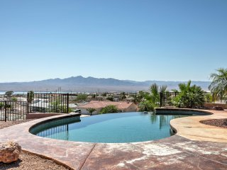 Deluxe Gated Home w/ Pool Overlooking Lake Havasu!