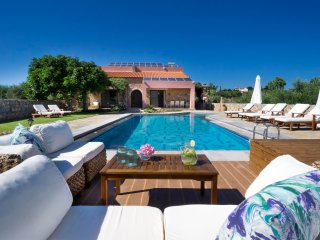 Luxury Stone Built Villa In Litsarda, Chania, Crete