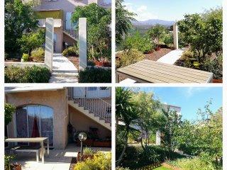 Rez de villa a 10 km d'Ajaccio et Porticcio, a 5 mn des plages, climatise, calme