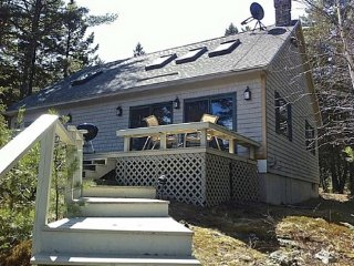 Waterfront home near Bar Harbor, abutting Acadia,