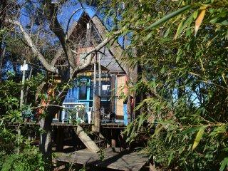 Cabanas Venacatu, en el bosque y a 400 metros del mar