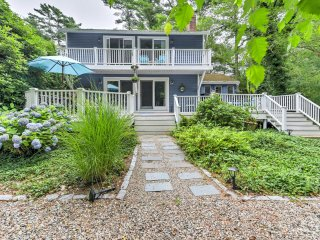 Mashpee House w/ Wraparound Deck - Walk to Beach!