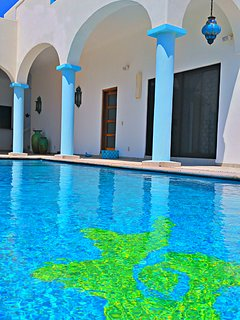 Villa Star of the Sea, Garden Room, Adult only BnB on the Ocean