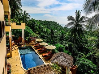 Samui Green Palm Resort Seaview Double Level Unit
