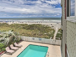 NEW! Beachfront 2BR Myrtle Beach Condo w/ View