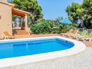 Paula - holiday home with private swimming pool in Benissa