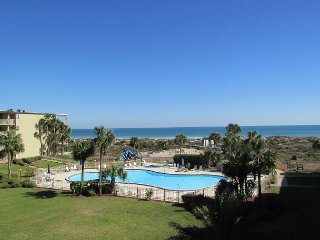 Great ocean and pool view at Colony Reef Club with 3 bedrooms and 2 bathrooms