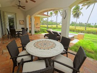 Enjoy an amazing golf course view while relaxing at this beautiful house