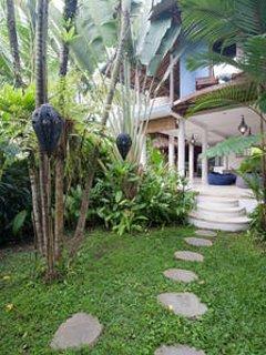 The Ark Bali's garden