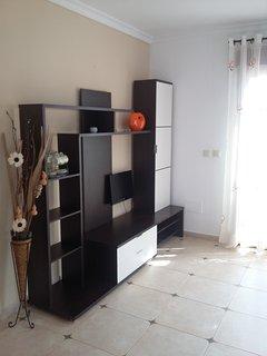 Salón con muebles nuevos