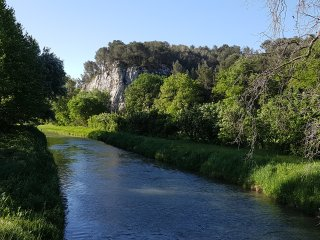 Spacious two bedroom on historic provencal estate btwn St Remy  and Avignon