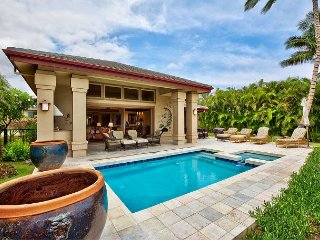 Luxury Vacation Home with Private Pool in Mauna Lani Resort!