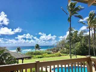 Kaha Lani 311, Great Ocean & Sunrise Views, Steps to Sandy Beach, Near Town