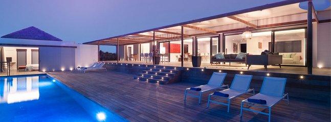 Villa Cairn  :: Ocean View :: Located in  Wonderful Petit Cul de Sac with Privat
