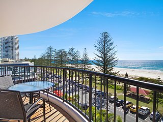 Calypso Tower Unit 504 - Beachfront on Coolangatta beach