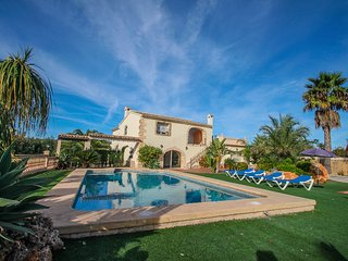 Sant Miquel - rustic and traditional spanish stone house in Costa Blanca