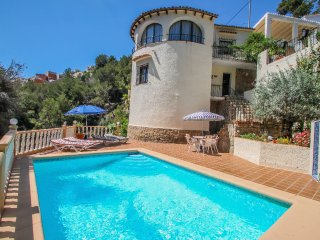 Monica II - holiday home with private swimming pool in Benissa