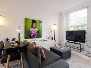 Spacious Hereford Road apartment in Westminster with WiFi.