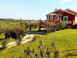 Villa Anta near Ermones beach