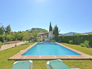 SES TANQUETES - Country house with swimming pool for 4 people in Caimari