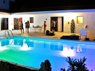 Awesome Villa in Los Gigantes with Pool & Palm Garden overlooking Atlantic Ocean