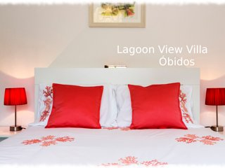 Lagoon View Villa - Obidos Portugal - Home for 10 people
