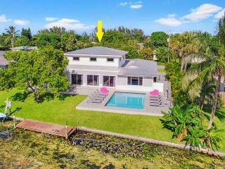 Belle Maison en Floride sur le canal
