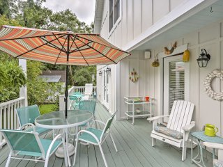 NEW! 3BR St. Simons Island House - Walk to Beach!