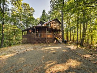 NEW! Private 2BR Ellijay Cabin w/ Deck & Fire Pit!