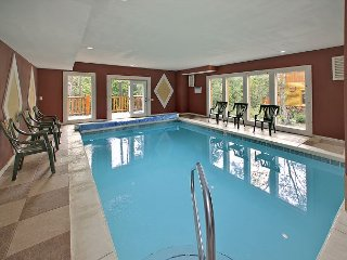 Private Heated Indoor Pool and Theater Room - Sleeps 18 Guests