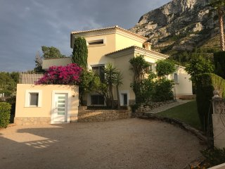 Contemporary Villa with sea and mountain views in a peaceful location.