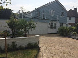 Detached house on Craigweil private marine estate by beach in Aldwick, nr Bognor