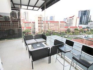 City 3Br Penthouse Near Farrer MRT (2mins)