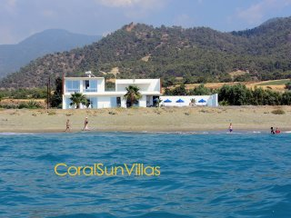 Beach Front (30m) Spectacular Villa, Ultimate Relaxation & Absolute Privacy
