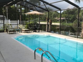 * 1.5 MILES TO BEACH-LAKE FRONT HEATED POOL-WIFI&CABLE-3BDR/2BATH PRIVATE HOUSE
