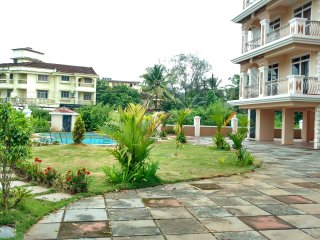 90m.sq. 2 BHK, that faces the pool perfect for a marvelous vacation