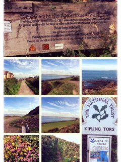 Beautiful SW Coast Path walk. Stunning views. Just turn right out of the site past The Pier House...