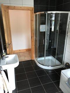 Shower downstairs