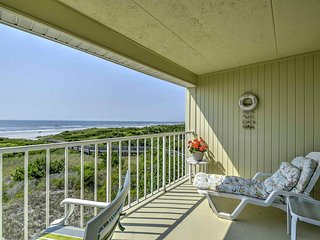 NEW! Direct On The Ocean Brigantine Studio Condo