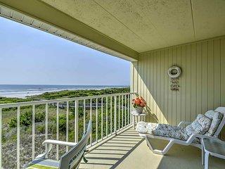 Oceanfront Brigantine Studio Condo w/ Balcony!