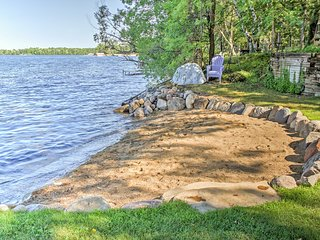 NEW! Waterfront 4BR Crosslake House w/ Sand Beach!