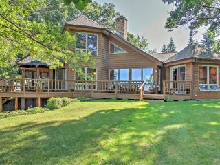 Waterfront Crosslake House w/ Private Dock & Beach